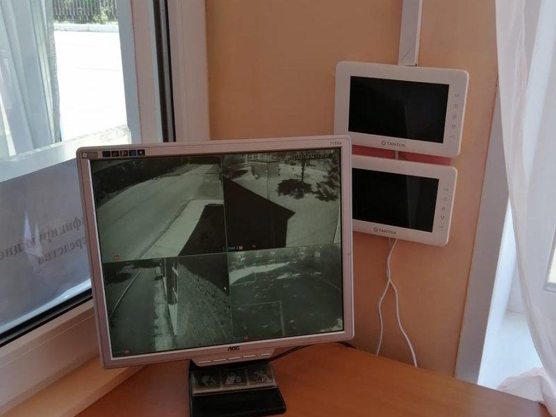 6.Мониторы видеонаблюдения
