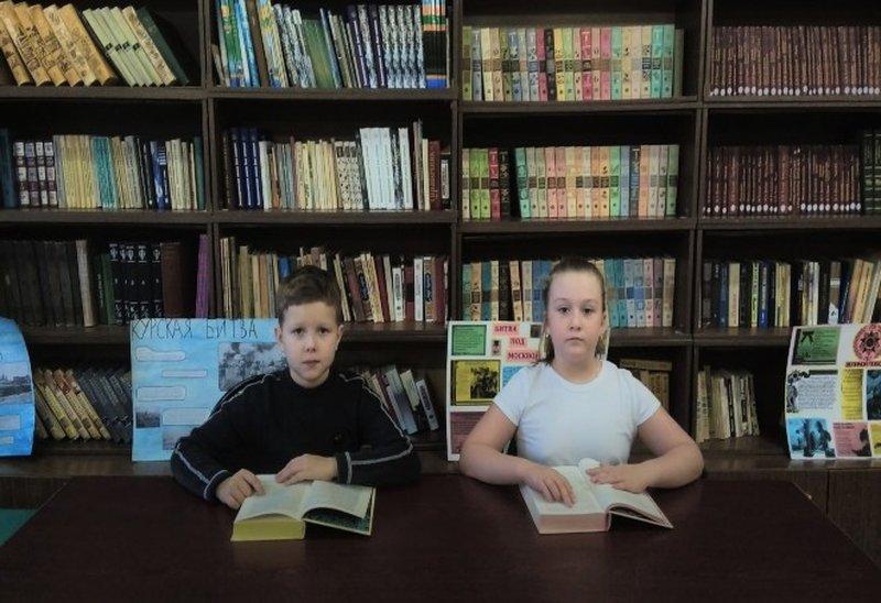 Наши юные читатели