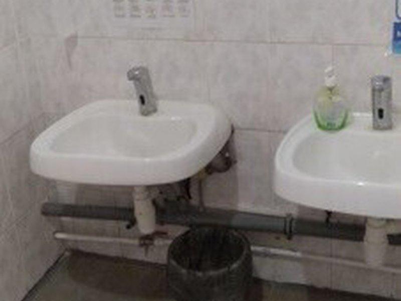Место для мытья рук