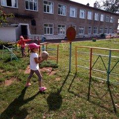 Благоустройство территории и детского сада