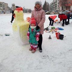 """Городской конкурс снежных построек """"Зимняя сказка"""""""