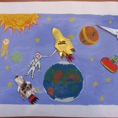 """Конкурс рисунков """"Мой космический мир"""""""