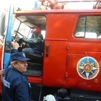 Встреча с пожарными