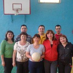 Волейбол в школе-интернате