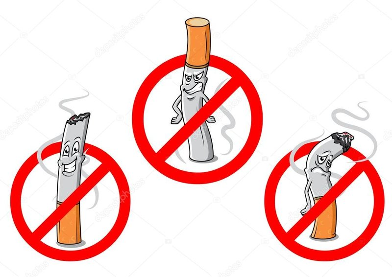 Курение на территории детского сада запрещено!