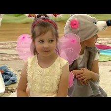 """Театрализованное представление приготовили воспитанники детского сада """"Улыбка"""""""