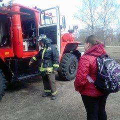 Экскурсия в пожарную часть № 204 с.Осташево