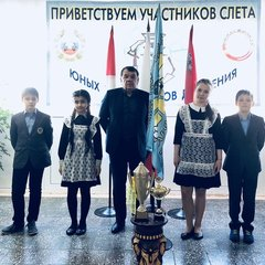 Слет юных инспекторов дорожного движения 12.04.2018