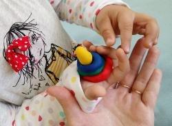 Умелые ручки (лепка для малышей)